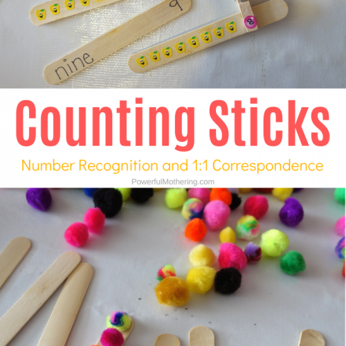 A simple and effective way to help children learn to count, 1:1 correspondence, and other simple math skills.
