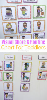 Printable Chore & Routine Cards For Kids