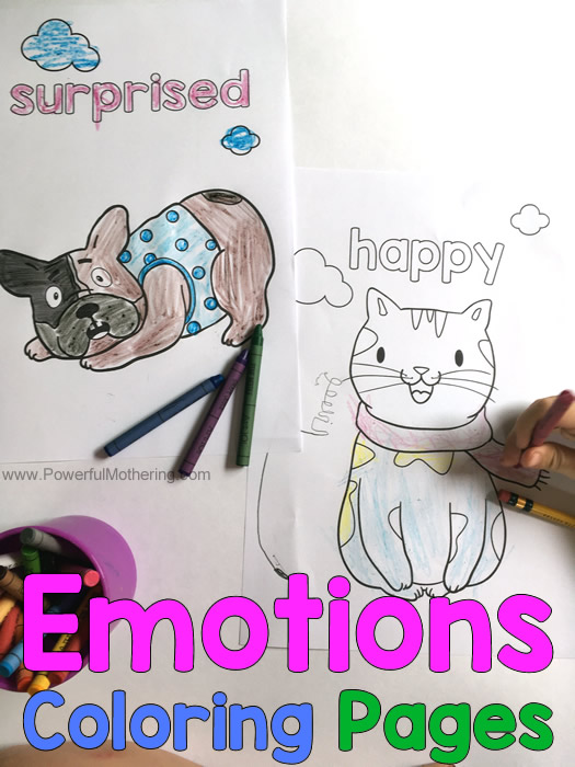 Our Emotions Coloring Pages Activity (teacher made) | 700x525