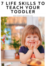 7 Life Skills to Teach your Toddler