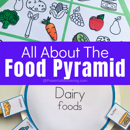 Food Pyramid Printable For Kids
