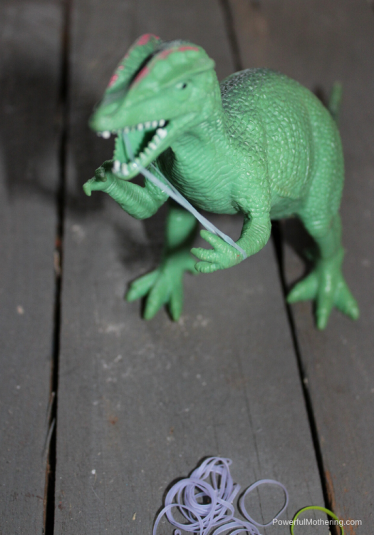 A Simple Fine Motor activity with a dinosaur. Kids will be entertained while practicing important skills.