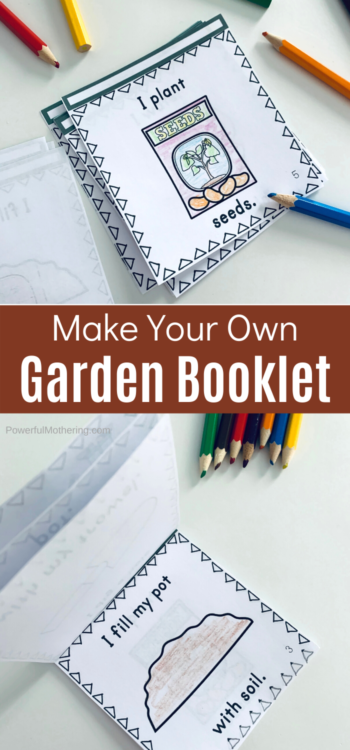 A simple garden activity perfect for spring! Kids will create their own booklet with the steps it takes to plant a seed & grow a plant. This is a great STEM craftivity for the classroom or home!