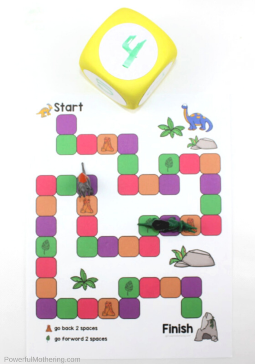 Explore a variety of math skills with this mega dinosaur printable pack. Have fun while strengthening math skills such as time, counting, one to one correspondence, number recognition, number formation, patterns, number words and so much more!