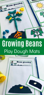 Planting A Bean Play Dough Mat