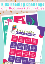 Printable Reading Challenge & Bookmarks