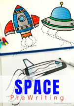 Launching Into Outer Space Prewriting