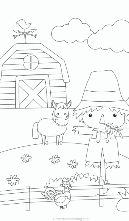 Printable Farm Animal Activities Bundle that is perfect for helping kids strengthen skills such as prewriting, identification, memory and more.
