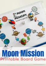 Moon Mission: A Space Board Game