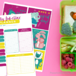 Free Printable Lunchbox Notes & Weekly Lunch Planner