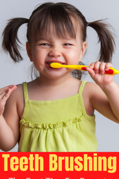Tips to help you teach your kids that they need to brush their teeth and the importance of it.