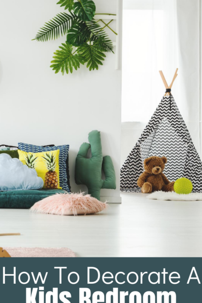 Decorating a child's bedroom can be difficult, but with these tips your kids bedroom will be fun, cute and organized!