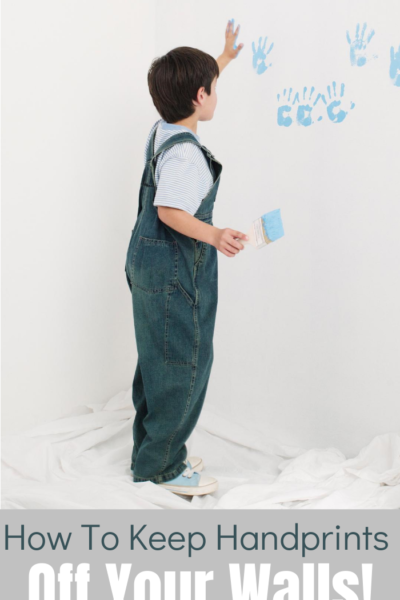 When kids live in a home, the walls are bound to get a few marks and scuffs, But you can keep your walls clean.