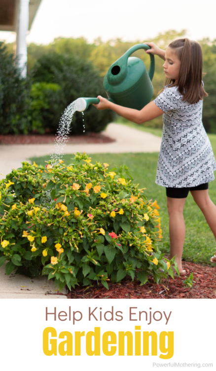These tips are super easy ways to help actually make gardening fun for kids of all ages!