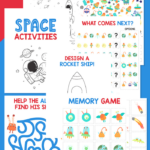 Free Printable Space Activities For Kids
