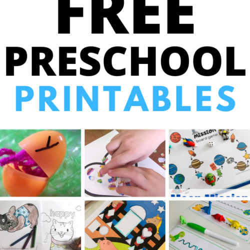 Hundreds of preschool printables to help children learn. Including ISpy, Games, Tracing, Fine Motor and more.