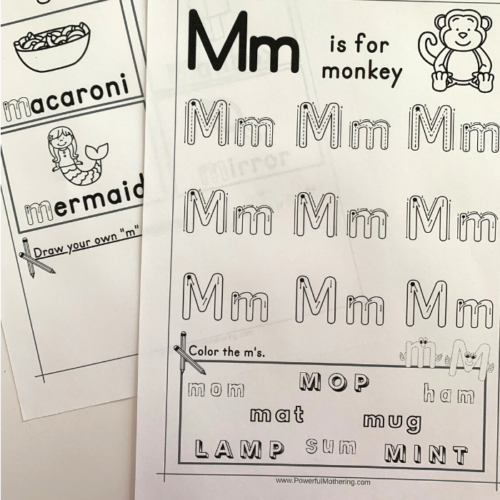 Printables to help children learn the letter L. This will help with letter tracing, letter identification, letter formation and more.