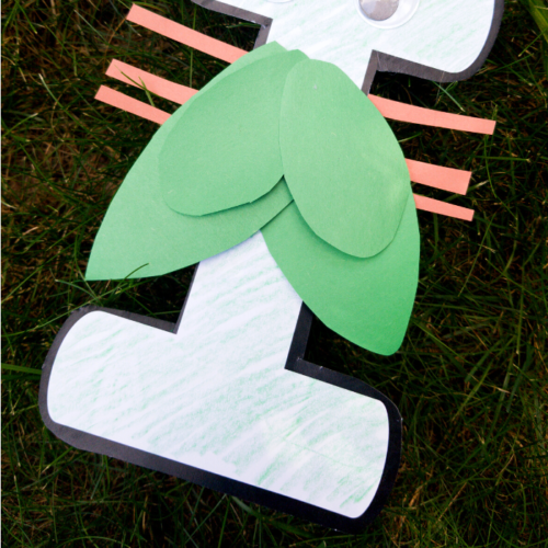 If you are exploring the letter I, this insect craft is a great addition. Strengthen fine motor, scissor and literacy skills all with one craft.