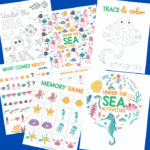 Under The Sea Printable Activities For Kids