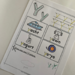 Letter Y Tracing Worksheets. A free printable set to help children explore letter Y through tracing, beginning sounds and more.