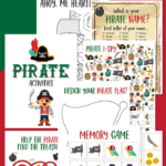 Free Printable Pirate Learning Pack