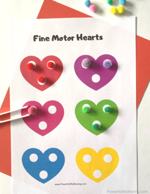 Free Printable Valentine's Day Learning Activities Pack for preschoolers. They will learn and practice a variety of important skills in a fun way!