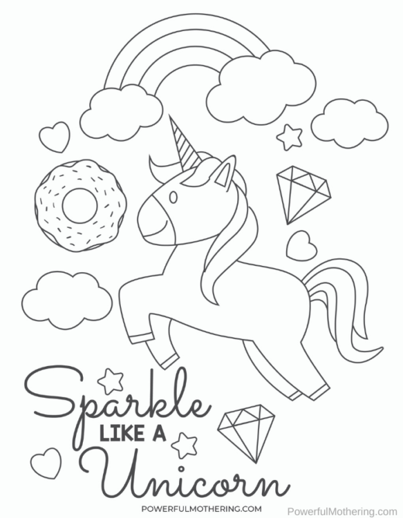 A fun set of printable learning activities with a unicorn theme for preschoolers.