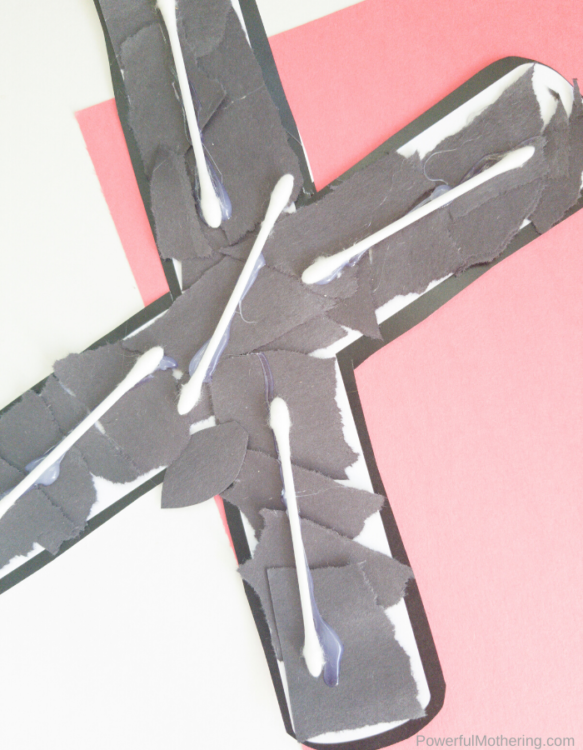 Letter X Craft For Kids: X-ray