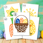 Easter Q-Tip Painting Craft For Kids