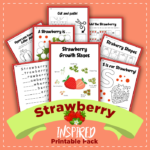 Strawberry Learning Activity Pack