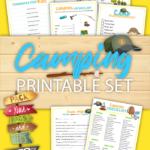 Printable Camping Activities For Kids