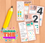 Learn All About Numbers Printable Pack